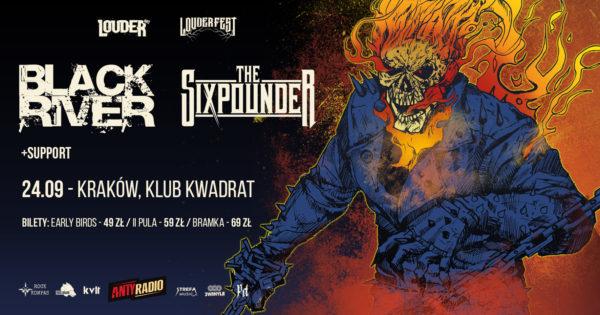 Koncert Deadpoint, The Sixpounder i Black River - Jesień z Louder Fest