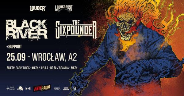Koncert Deadpoint, The Sixpounder i Black River 26-09 - Louder Fest