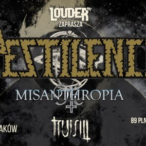 Koncert Kraków, zagrają Pestilence, Misanthropia, Truism